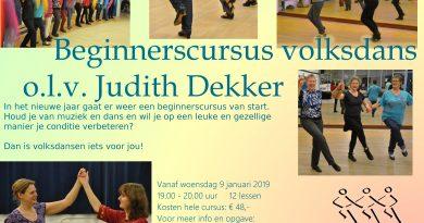 Beginnerscursus 2019 (er zijn nog plaatsen beschikbaar)