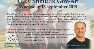 Workshop Israëlisch en Yeminitisch met Shmulik Gov-Ari