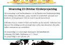Kinderprojectdag in de herfstvakantie: 23 oktober!